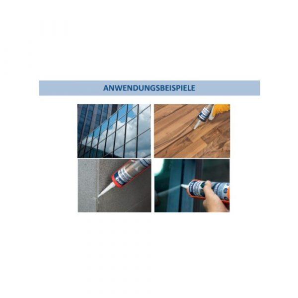 Bausilikon Professional Anwendung