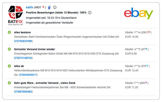 Bewertung ebay neu 4